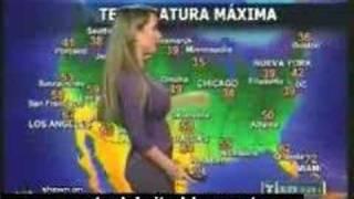 getlinkyoutube.com-Smokin' Weathergirl