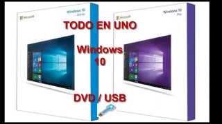 getlinkyoutube.com-Descargar Windows 10 full Español  Pro | Home / 64 bits | 32 bits Full Final + Activador + ISO USB