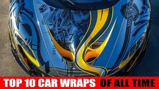getlinkyoutube.com-Top 10  car wraps of all time