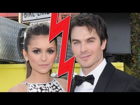 Nina Dobrev & Ian Somerhalder Break-Up!