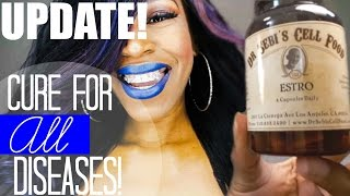 getlinkyoutube.com-UPDATE: Cure For All Diseases Dr. Sebi Cell Food UnBoxing!