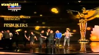 getlinkyoutube.com-PESBUKERS Komedi Terfavorit PANASONIC GOBEL AWARDS 2013