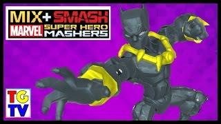 getlinkyoutube.com-Marvel Super Hero Mashers Black Panther   Mix + Smash