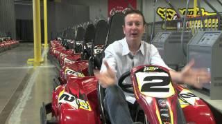 getlinkyoutube.com-Kurt Busch Indoor Karting Driving Tips
