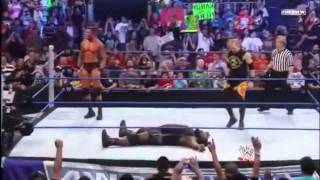 getlinkyoutube.com-Randy Orton Acts Like Santino Marella After RKO