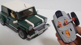 getlinkyoutube.com-Lego 10242 RC Motorized MINI Cooper (레고 미니쿠퍼 RC) by 뿡대디