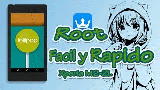 getlinkyoutube.com-ROOTEAR XPERIA M2 con Android 5.1 Facil y Rapido.