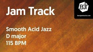 getlinkyoutube.com-Smooth Acid Jazz Jam Track in D major 115 BPM