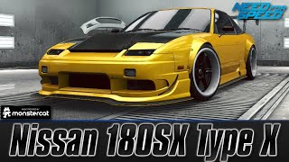 getlinkyoutube.com-Need For Speed No Limits: Nissan 180SX Type X (Customization + MAXXED OUT)
