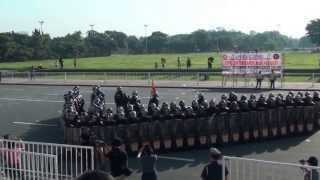 QCPD's PRIDE- Civil Disturbance Management Contingent 2013