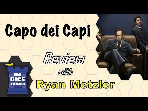 Capo dei Capi Review - with Ryan Metzler