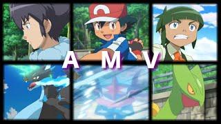 getlinkyoutube.com-Pokemon XYZ Ash Vs Alain/Shota AMV Fall out Boy (Greninja, Charizard X, Sceptile)