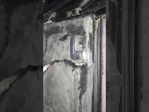 Тойота калдина, ремонт электромотра замка двери