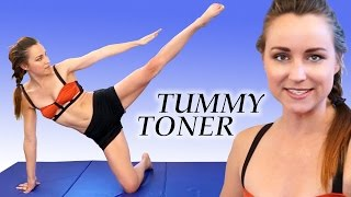 getlinkyoutube.com-Flat Stomach Exercises and At Home Ab Toning Workout, Joy of Fitness 20 Minute