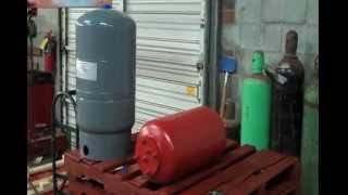 getlinkyoutube.com-Expansion Tank Installation how to Charge a bladder diaphragm Amtrol extrol air pressure install