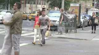 getlinkyoutube.com-Nick Jonas and girlfriend Olivia Culpo MISS UNIVERSE ! in New York City