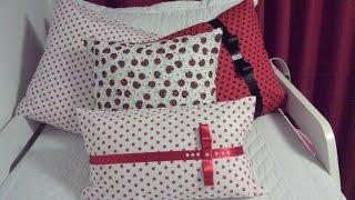 getlinkyoutube.com-Capa para almofada sem costura  DIY - Faça você mesmo