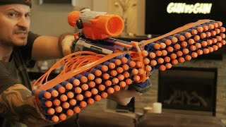 getlinkyoutube.com-NERF GUN WAR