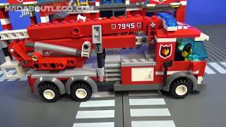 getlinkyoutube.com-LEGO City Fire Station