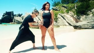 "getlinkyoutube.com-Shredded With Adam Saaks Designs on Curvy Model, Denise Bidot For ""swimsuitsforall"""