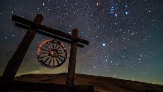 getlinkyoutube.com-星空のある風景 タイムラプス#55 4K ~ 満天の星空 冬の天の川 / 長野県霧ヶ峰高原 ~  Starry Night Timelapse #55 4K  星景微速度撮影