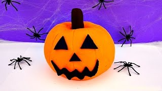getlinkyoutube.com-Play Doh Halloween Playlist Shopkins Frozen Spongebob Peppa Pig Cars 2 Spiderman StrawberryJamToys
