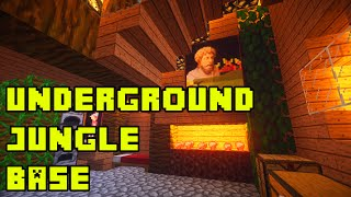getlinkyoutube.com-Minecraft: Underground Jungle House/Base Tutorial Xbox/PE/PC/PS3/PS4