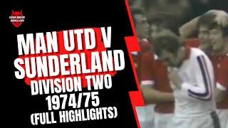 getlinkyoutube.com-Man Utd v Sunderland 74/75 Division 2