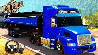 getlinkyoutube.com-Euro Truck Simulator 2 - TRANSPORTANDO ETANOL 20 TONELADAS l VOLVO NH12 LOGITECH G27