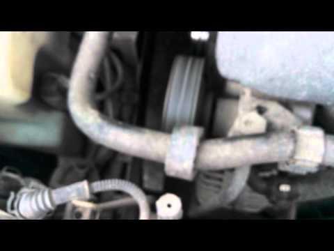 Шум от подшипника муфты кондея (Golf MK-4)