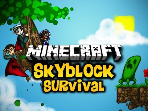Minecraft Skyblock Survival Ep. 35 w/ Luclin & Wolv21 (HD)