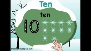 Video on learning to count to 10, Learn to spell