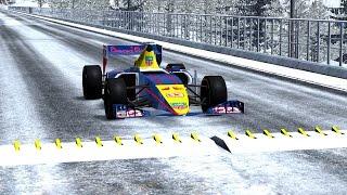 getlinkyoutube.com-Spike Strip High Speed Crashes #4 – BeamNG Drive