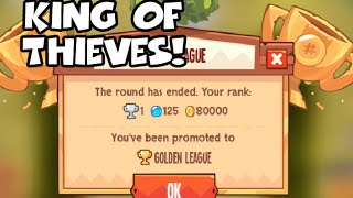 getlinkyoutube.com-King Of Thieves Gameplay 2 - #1 In Gold League