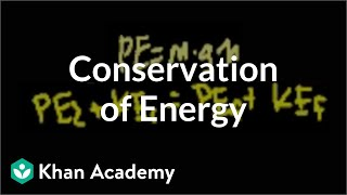 Conservation of energy | Work and energy | Physics | Khan Academy