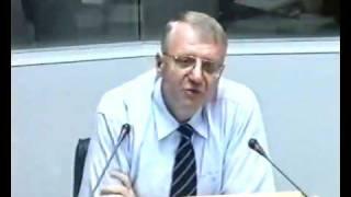 getlinkyoutube.com-Saslušanje Vojislava Šešelja u Hagu o ubistvu Zorana Đinđića 4.8.2003. 1deo