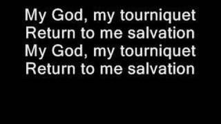 getlinkyoutube.com-Evanescence - Tourniquet (lyrics)
