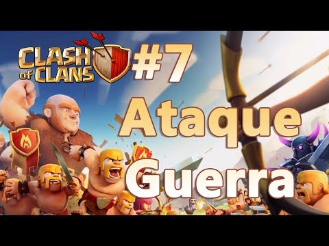Clash of Clans HD Parte 7  - Atacando na Guerra