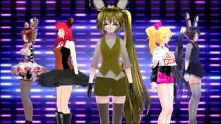 getlinkyoutube.com-[MMD/FNAF] Worth It~Fifth Harmony