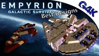 Empyrion Best Designs | Millennium Falcon, Raven and others