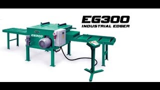 getlinkyoutube.com-Wood-Mizer Multirip Board Edger - Industrial EG300 Edger