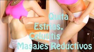 getlinkyoutube.com-Reduce Medidas, quita estrias y celulitis con masajes y crema.