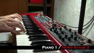 getlinkyoutube.com-Piano sounds / KORG v.s YAMAHA v.s ROLAND v.s NORD