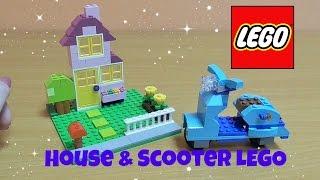 getlinkyoutube.com-LEGO CLASSICS SET - HOUSE AND SCOOTER