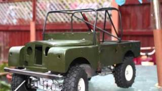 getlinkyoutube.com-Scale series 1 Land-Rover build in pictures