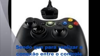 getlinkyoutube.com-Como Conectar o controle do xbox 360 no PC (Kit play and charge)
