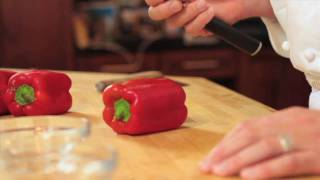 In the Kitchen with Brian Hinshaw - Prepare, Dice, and Julienne Peppers