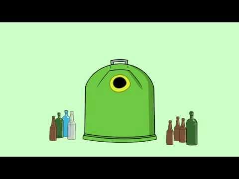 Videos youtube c mo reciclar con archi contenedor verde - Como reciclar correctamente ...