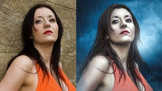 getlinkyoutube.com-Photoshop Manipulation Tutorial | Skin Retouching High End