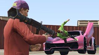 getlinkyoutube.com-RPG HIT & RUN MADNESS! (GTA 5 Online)
